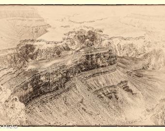 Grand Canyon #3 Sepia