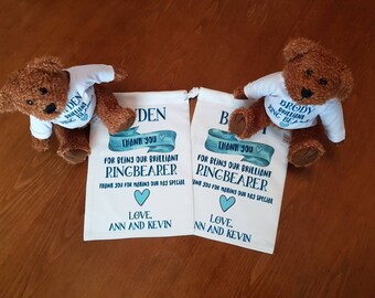 Will You Be Our Ring Bearer Teddy Bear, Ring Bearer Teddy Bear, Ring Bearer Teddy Bear, Ring Bearer Gift,