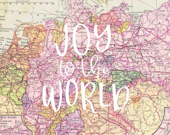 Joy to the World   Digital Print Download