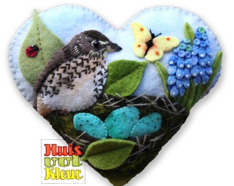 The heart of Birds in spring