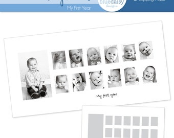 10x20 Baby's First Year Storyboard - Photographer Template