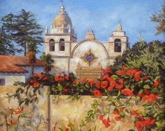 Carmel Mission, Carmel Mission San Carlos Borromeo del río Carmelo, Famous Landmarks, Monterey Peninsula