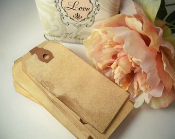 250 Escort Cards. MEDIUM Vintage Wedding Tags. Anthropologie Place Cards. Skeleton Key Card. Name Tag. Wish Tree. Stained. Rustic. LIGHT.