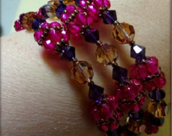 PDF Circle of Life Bracelet / Beaded Bead (INSTANT DOWNLOAD)
