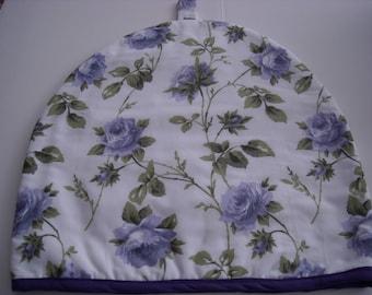 Purple Flowers Tea Cozy