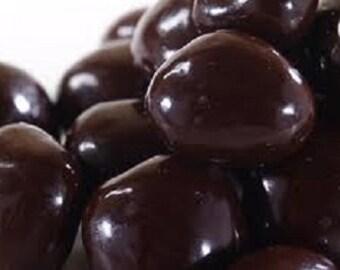 Dark Chocolate Covered Dried Cherries 8oz