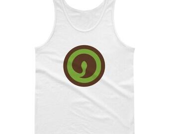 Spiral Snake Green Cute Snake Rattlesnake I Love Snakes Coiled Snake Art Print Snake Ring Charm Snake Birthday Party Gift Tank top