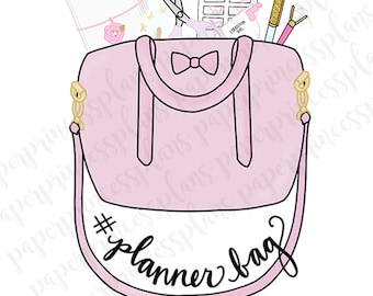 DIGITAL DOWNLOAD - Hashtag Planner Bag!