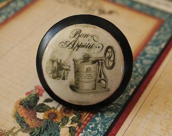 Vintage Knobs Confection Bon Appetit Ice Cream