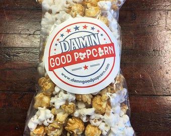 3 Gallon Party Bag of Gourmet Columbus Mix White Cheddar Caramel Popcorn