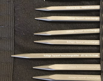Kollage Interchangeable Knitting Needle Set