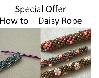 Special Offer: Bead Crochet - How to & Pattern