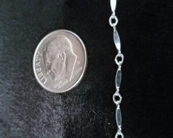 A7066 Silber Knöchel Armband, Halskette, Fußkettchen