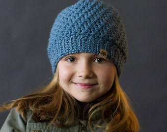 Crochet PATTERN Voyager Crochet Beanie Crochet Hat Pattern Includes Sizes Babies through Adult