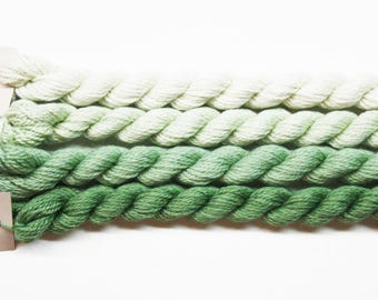 Silk & Ivory Yarn 4.95 Each, Silk Threads, Silk Ivory Thread, Brown Paper Packages Silk Ivory Yarn, Needlework Threads, Needlepoint Yarns