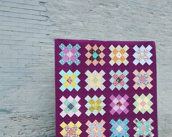 Bold Modern Granny Square Quilt