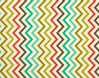 Michael Miller Mini Chic Chevron Retro Quilters Cotton Fabric