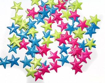 120 PCS Mix Colorful Hotfix Stars for Crafts and Nails Art