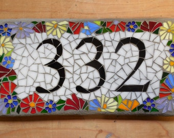IN STUDIO workshop: Mosaic Address Sign