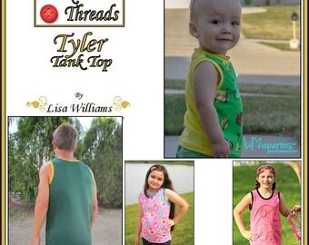 INSTANT DOWNLOAD: Tyler Tank Top - DiY Tutorial PdF eBook Pattern - Sizes 12M to 16