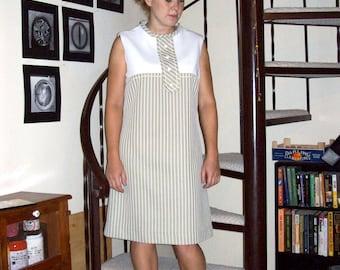 Vintage 60s mod dress - medium/large