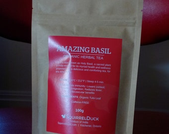 Amazing Basil - Organic Herbal Tea