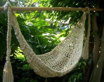 PATTERN Crocheted Baby Hammock  Permission to sell