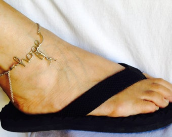 Hanging onto HOPE - Anklet