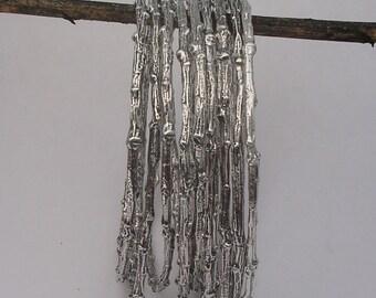 Medium size Recycled Twig Bangle Bracelet