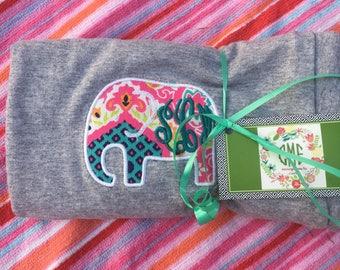 Elephant Monogram T-Shirt