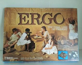 1977 Invicta Ergo Strategy Game