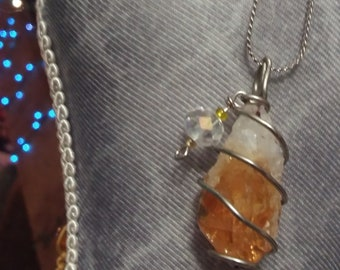 Citrine Teardrop (raw)