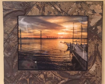 Ceiling Tin Picture Frame 11x14