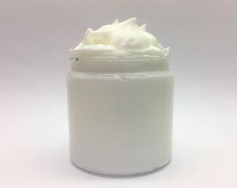 Barber Shoppe Men's Whipped Body Butter, Goat Milk, Shea and Cocoa Butter With Vitamin C, Handmade