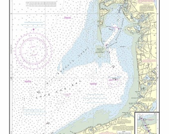 Wellfleet Harbor - 2013 Nautical Map - Massachusetts - ED Reprint Harbors 340