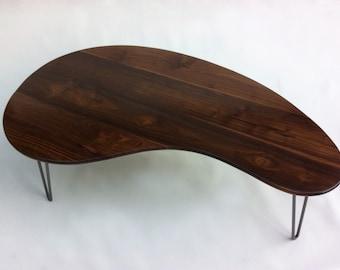 Kidney coffee table Etsy