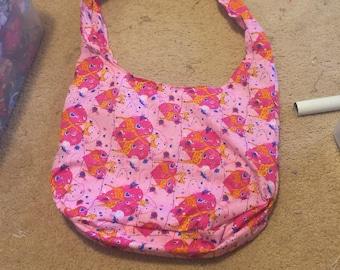 Pink Giraffes in Love Hobo Bag