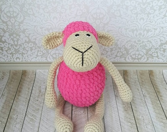 Crochet Sheep, Amigurumi Sheep, Crochet Lambie, Soft toy, Gift for Baby, Stuffed Sheep, Baby Toy