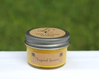 Tropical Sunrise Handpoured Soy Candle