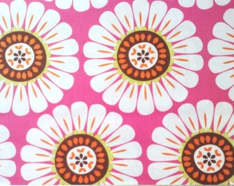 "See Shop Announcement for % off code! Courtney Pink - Michael Miller - Cotton - Pattern #cx-5480 - 44"" - YOU PICK YARDAGE - 1/2 yard - 6 yds"