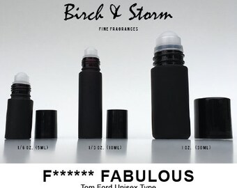 F****** FABULOUS by Tom Ford Unisex type - 100% Pure Perfume Fragrance Body Oil - Uncut - No Alcohol