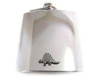 Dinosaur 6 oz. Stainless Steel Flask