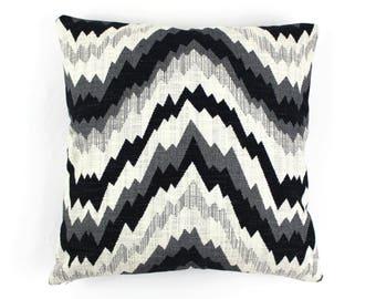 Kelly Wearstler Flair Noir Pillow Covers (Both Sides)