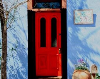 Red Door in Down Town Tucson