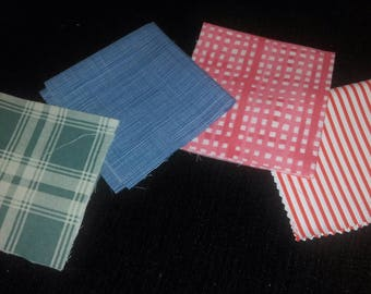 """8x8"""" Fabric Squares colour choices available."""