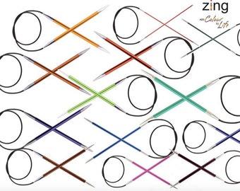 Knitpro Zing 100cm 40 inch Fixed Circulars