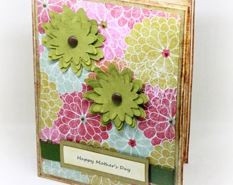Mother's Day Card - A Bounty of Flowers - Happy Mother's Day - Floral Card - Handmade Greeting Card