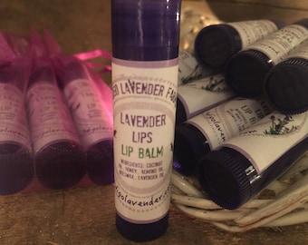 Lavender Lips Lip Balm