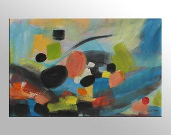 Abstract Art, Canvas Art, Contemporary Wall Art, Original Oil Painting, Large Painting, Modern Painting, Canvas Painting, Oil Painting