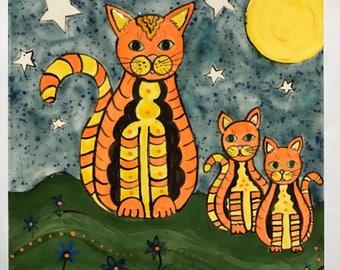 Tile-Cat Family